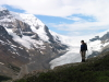 [Col and Athabasca Glacier]